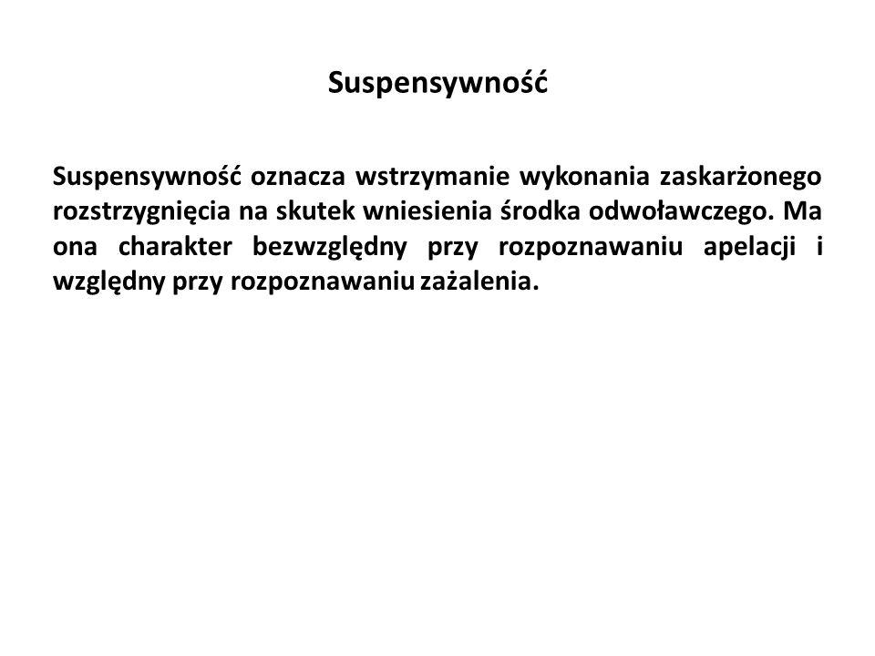 Suspensywność
