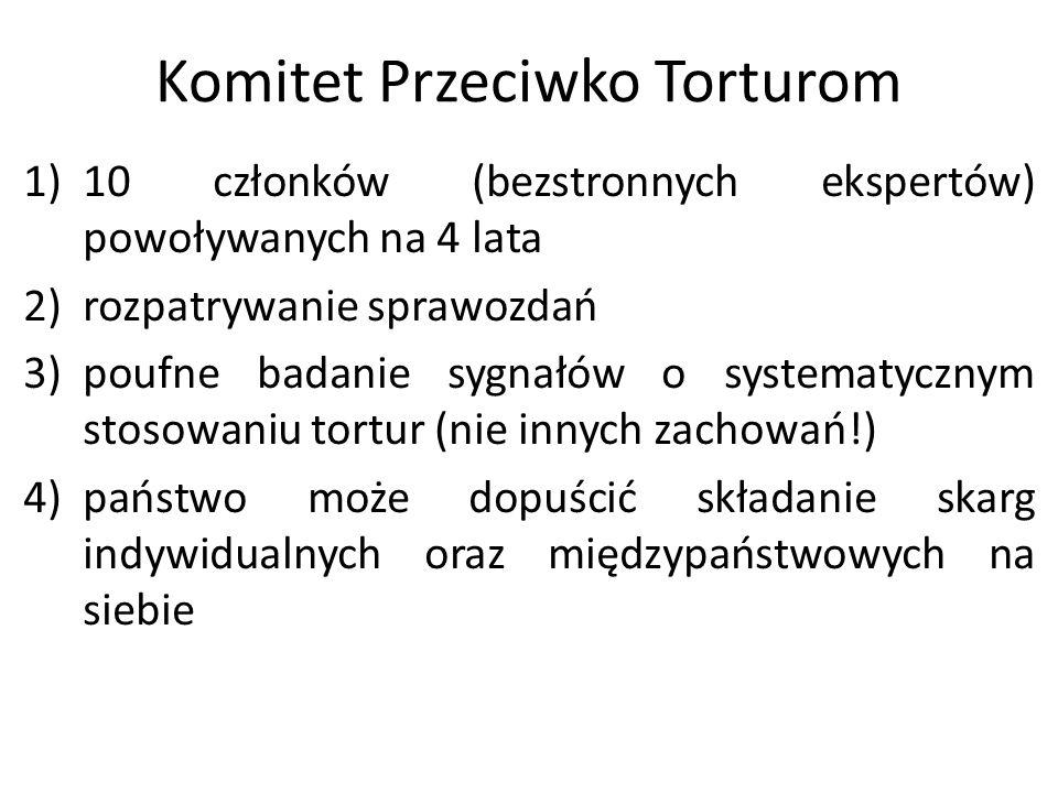 Komitet Przeciwko Torturom