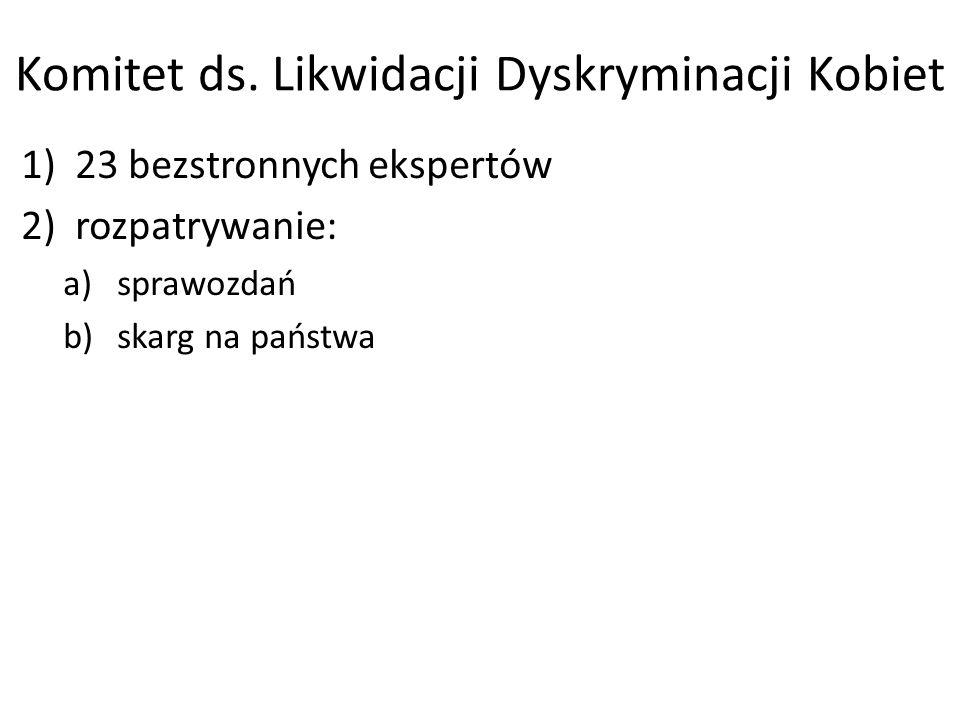 Komitet ds. Likwidacji Dyskryminacji Kobiet