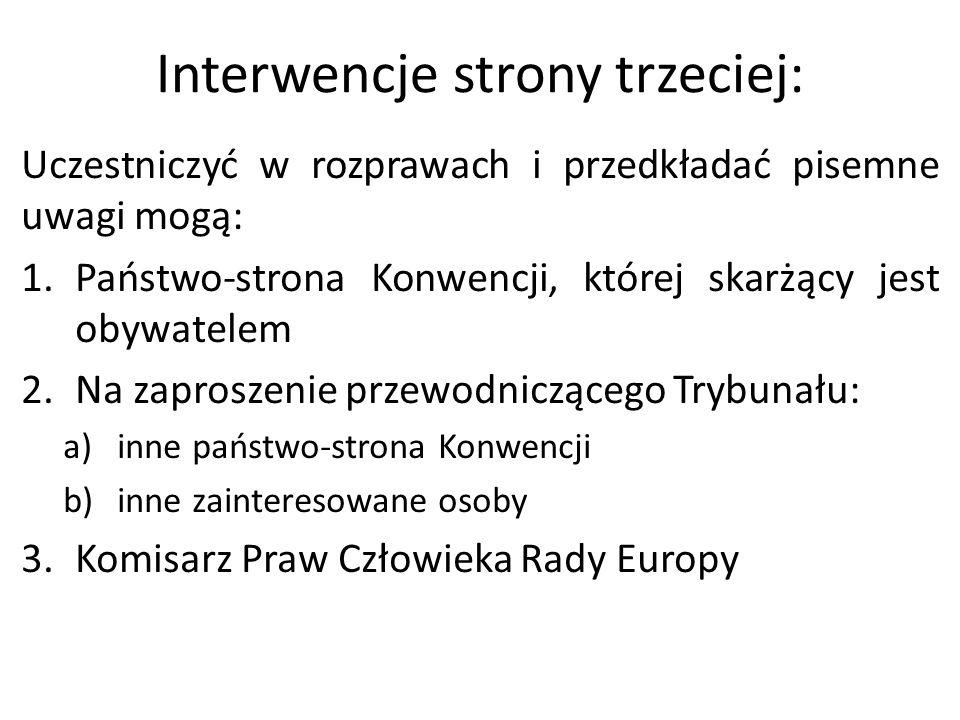 Interwencje strony trzeciej: