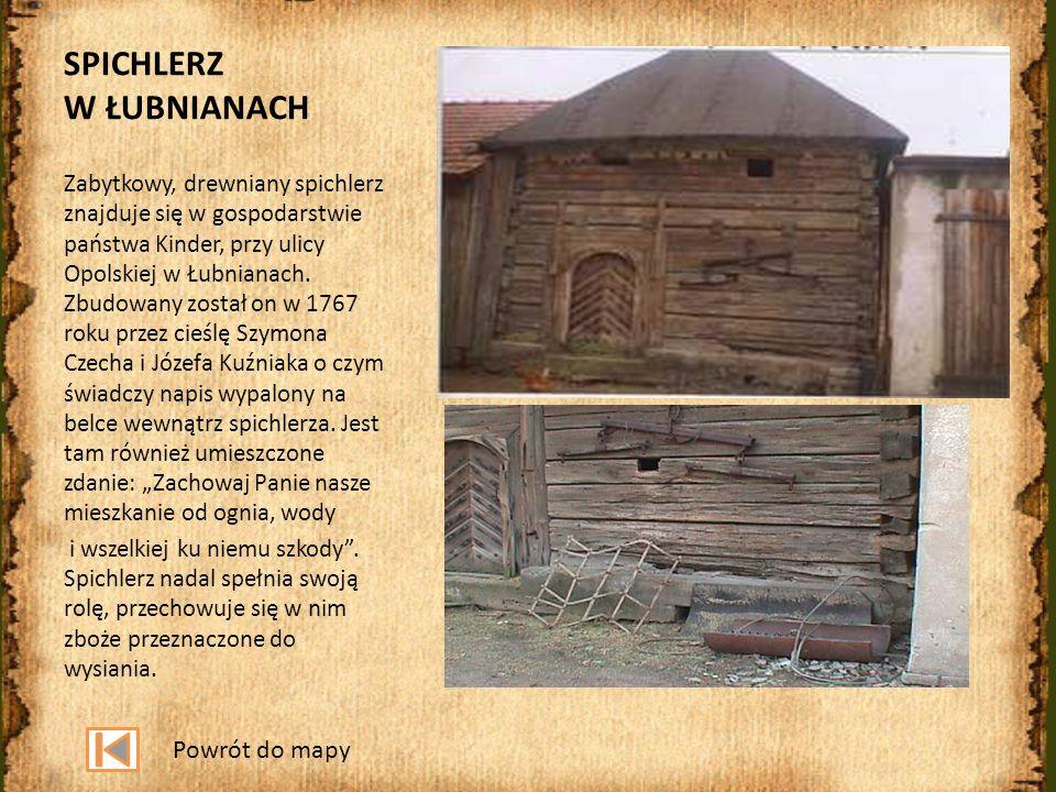 SPICHLERZ W ŁUBNIANACH