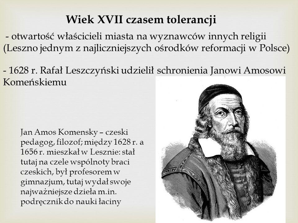 Wiek XVII czasem tolerancji