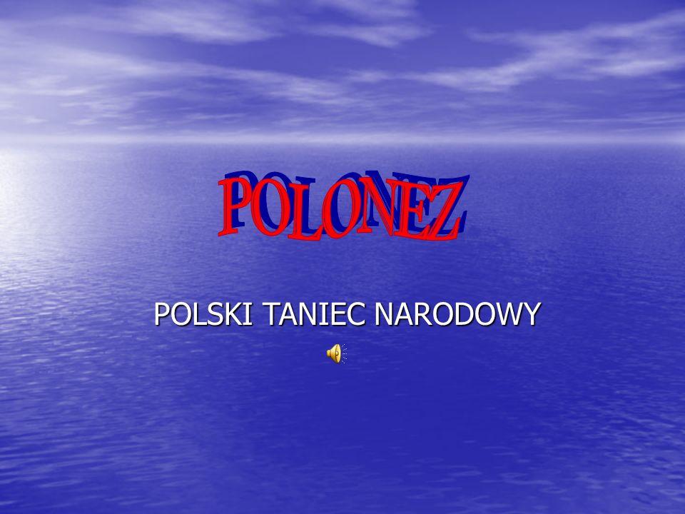 POLSKI TANIEC NARODOWY