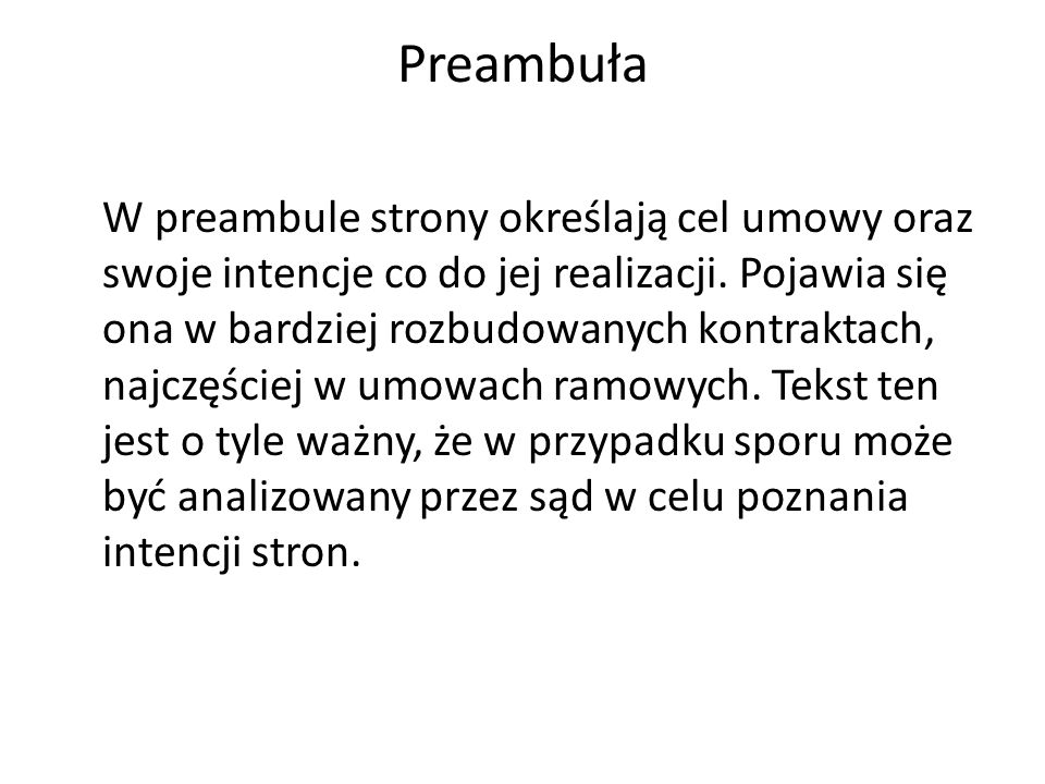 Preambuła