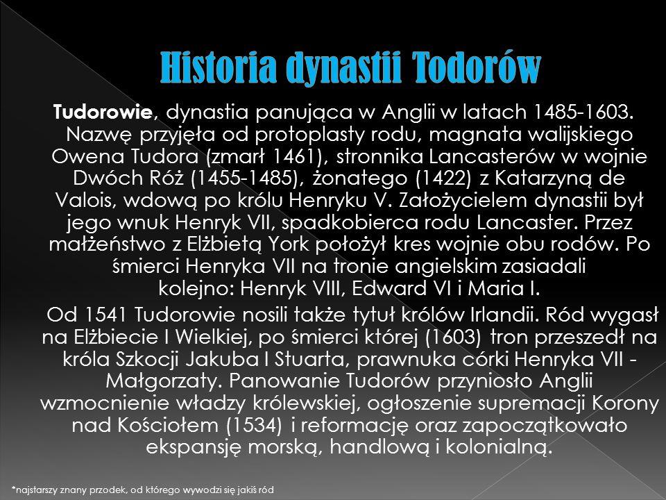 Historia dynastii Todorów