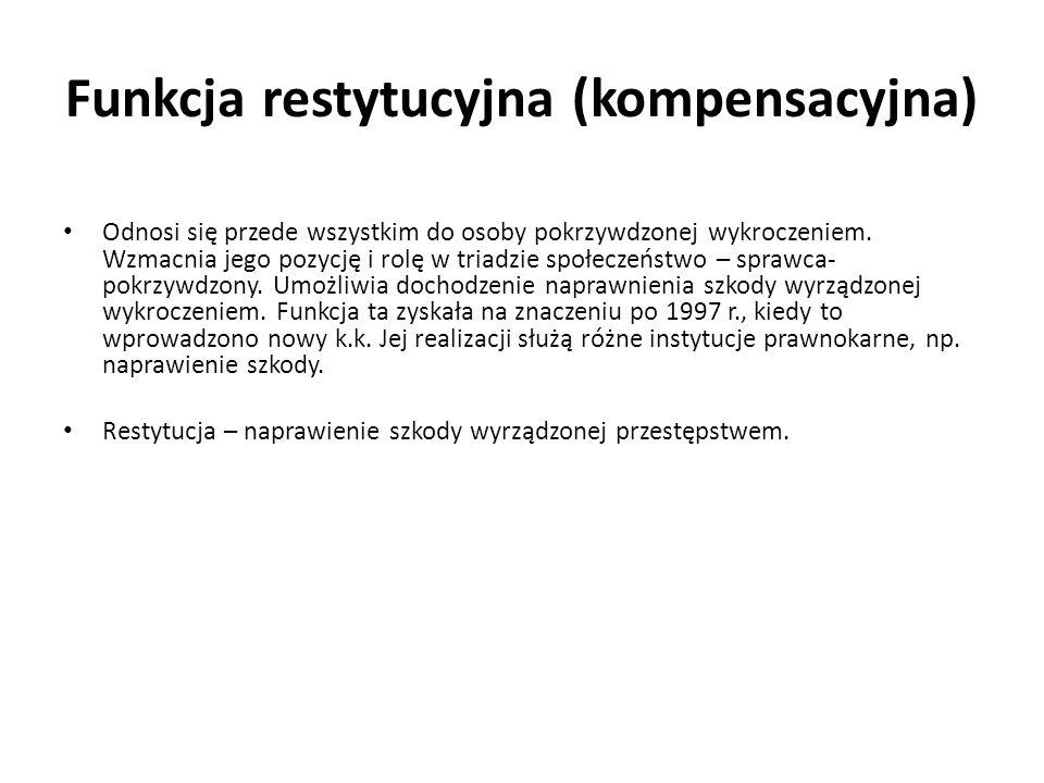 Funkcja restytucyjna (kompensacyjna)