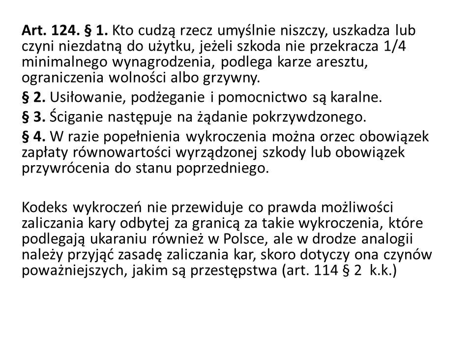 Art. 124. § 1.