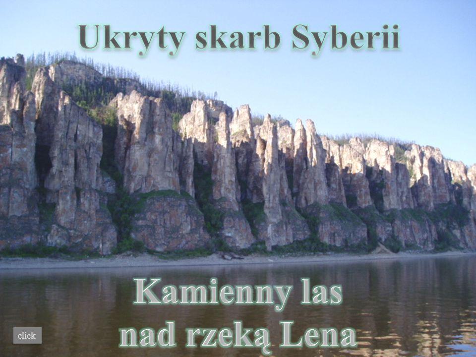 Ukryty skarb Syberii Kamienny las nad rzeką Lena