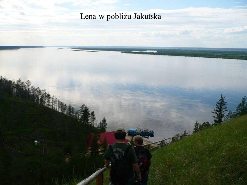 Lena w pobliżu Jakutska