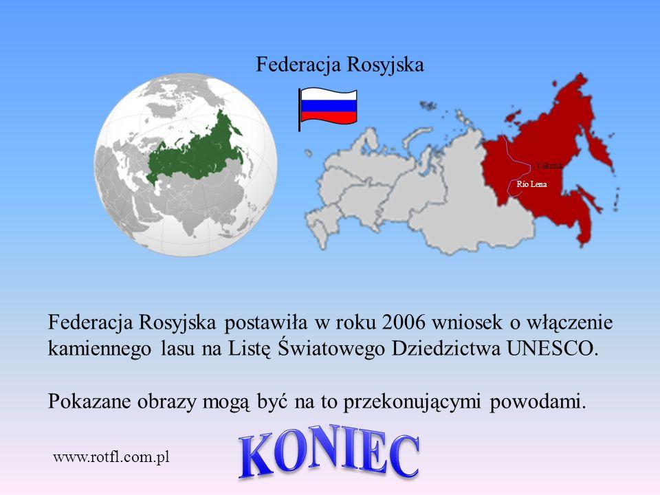 KONIEC Federacja Rosyjska