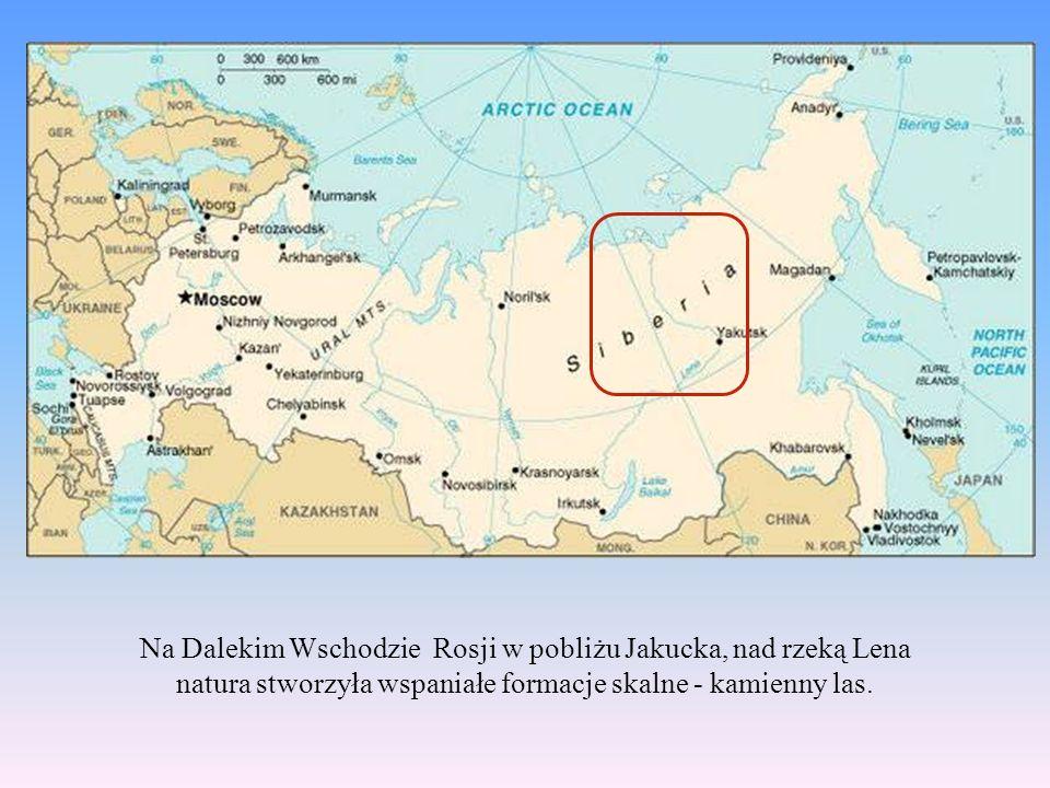 Na Dalekim Wschodzie Rosji w pobliżu Jakucka, nad rzeką Lena