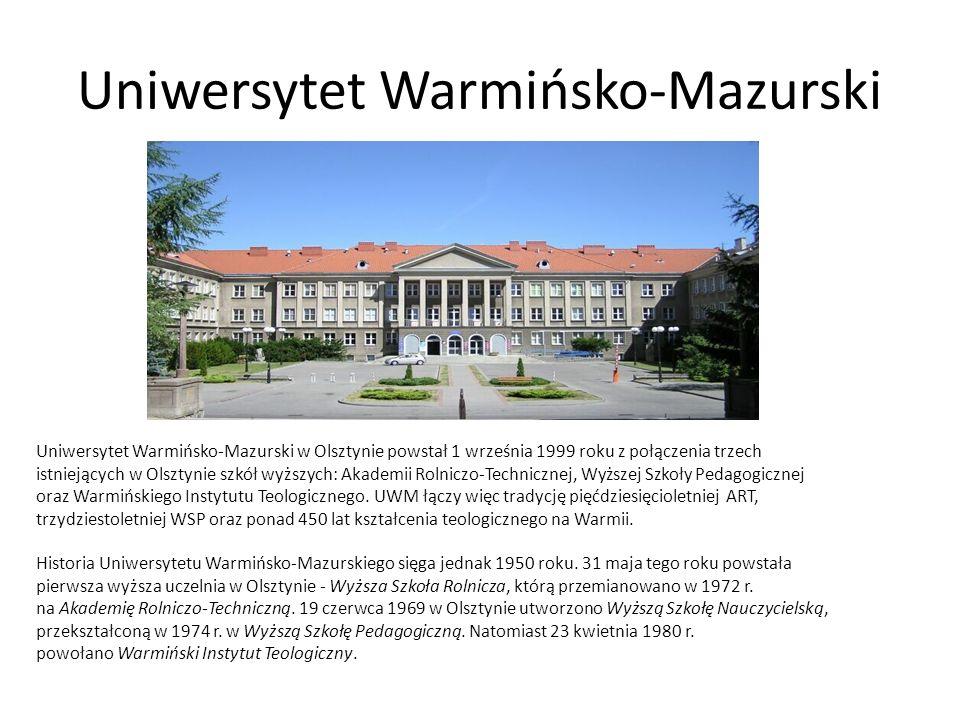 Uniwersytet Warmińsko-Mazurski