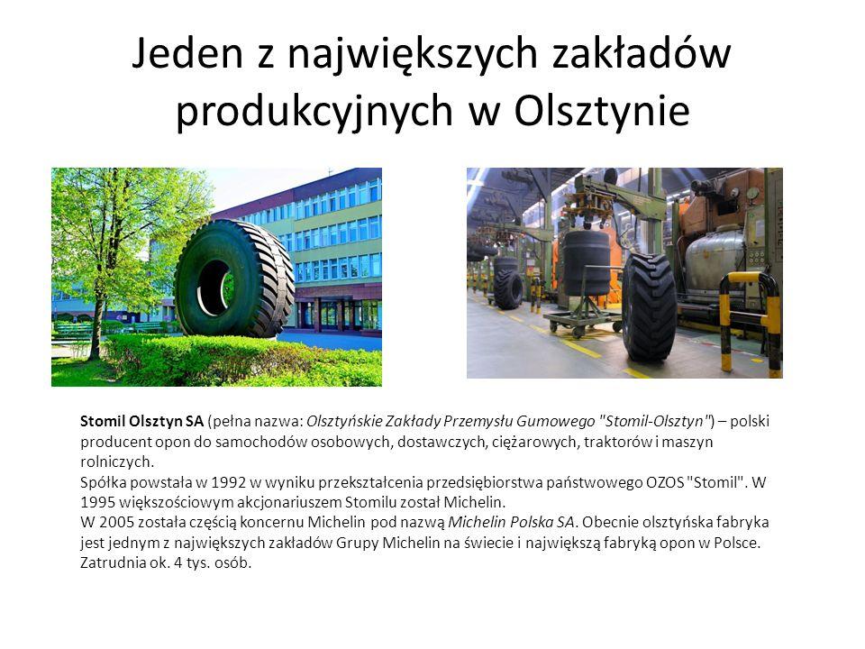 Jeden z największych zakładów produkcyjnych w Olsztynie