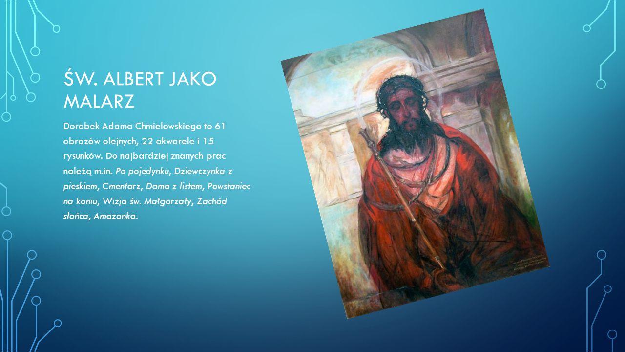 Św. Albert jako malarz