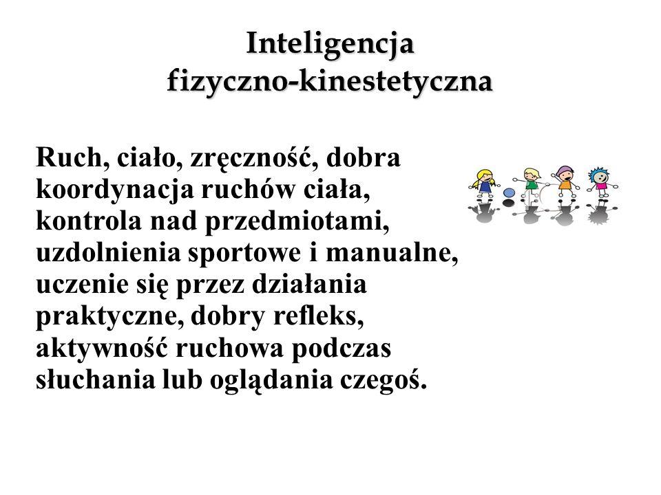 Inteligencja fizyczno-kinestetyczna