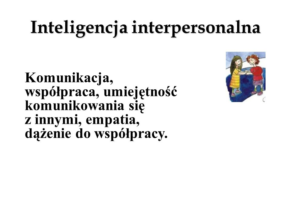 Inteligencja interpersonalna
