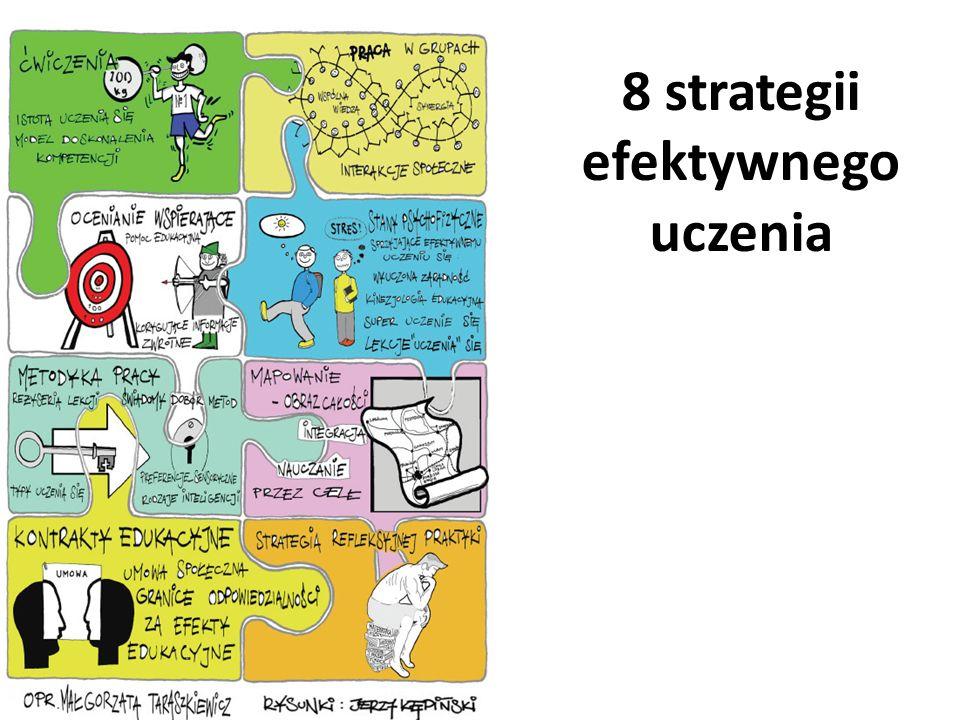 8 strategii efektywnego uczenia