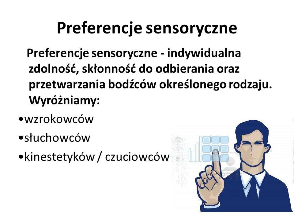 Preferencje sensoryczne