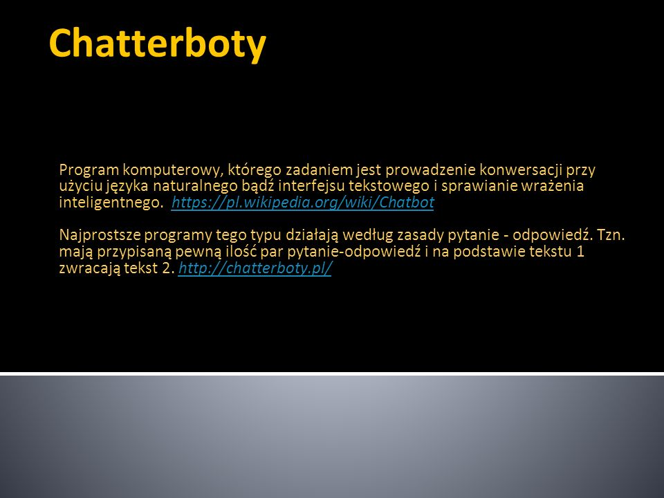 Chatterboty