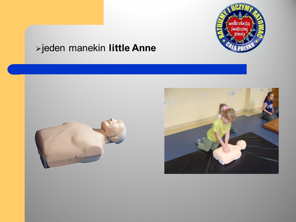 jeden manekin little Anne