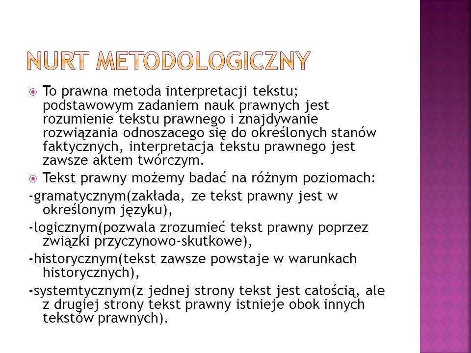 Nurt metodologiczny