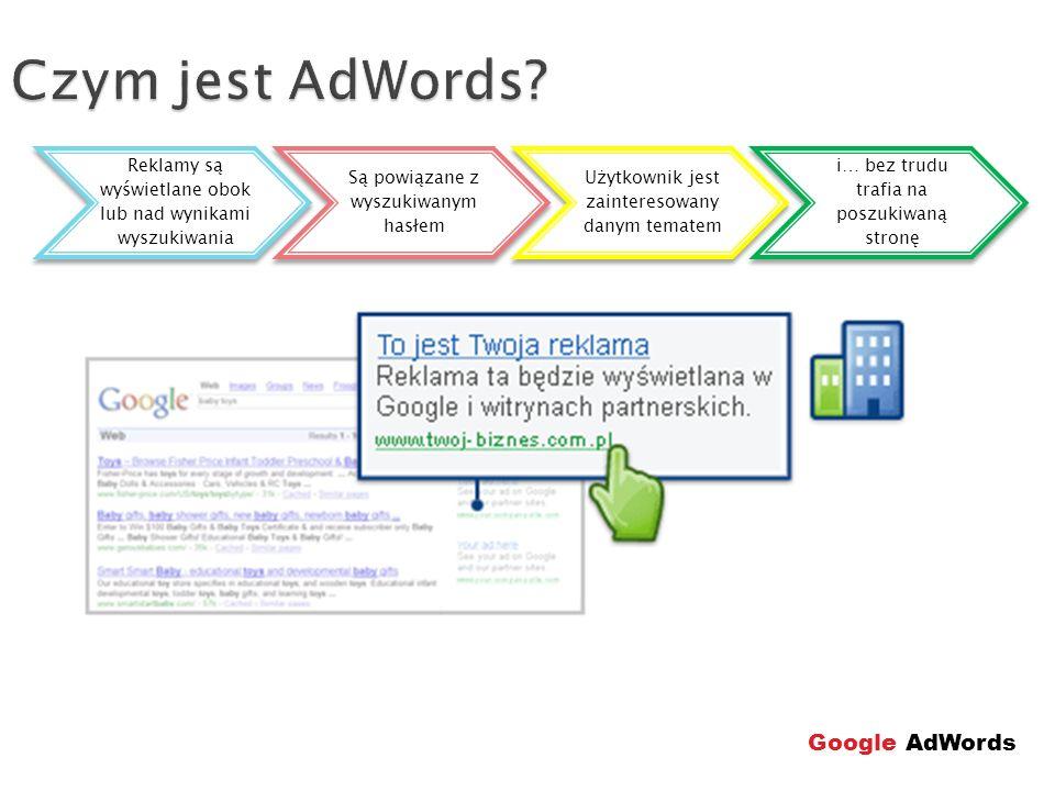 Czym jest AdWords Google AdWords