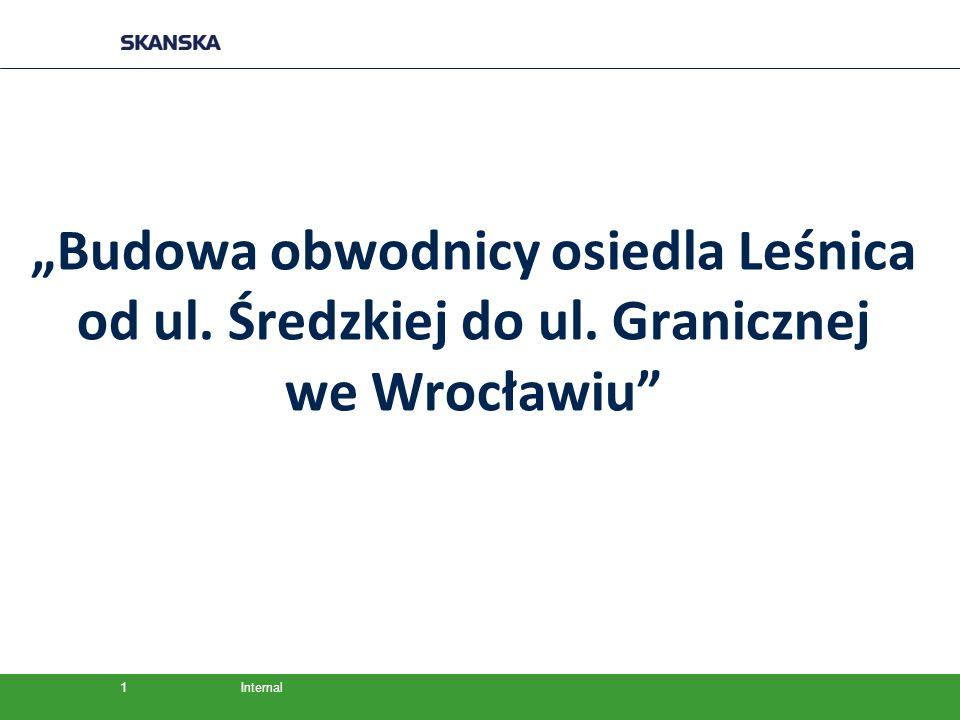 """""""Budowa obwodnicy osiedla Leśnica od ul. Średzkiej do ul. Granicznej"""