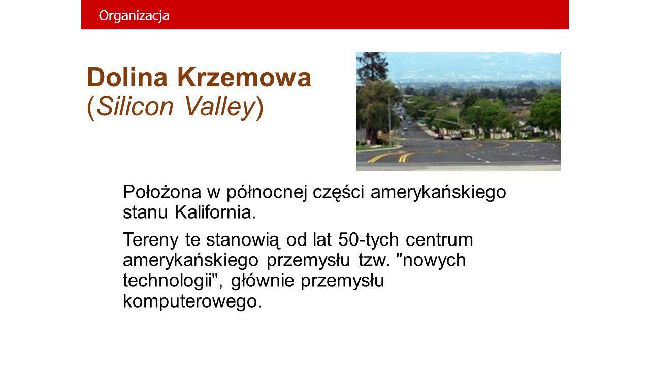 Dolina Krzemowa (Silicon Valley)