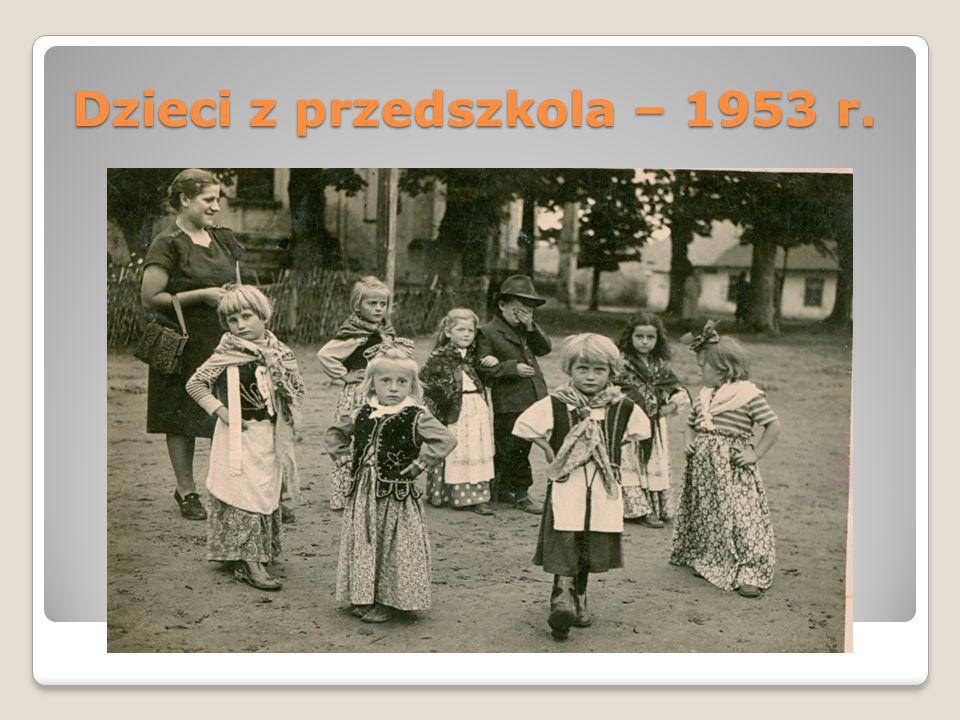 Dzieci z przedszkola – 1953 r.