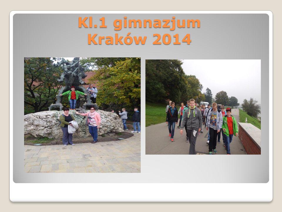 Kl.1 gimnazjum Kraków 2014