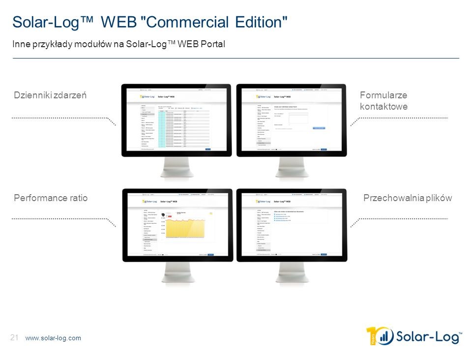 Solar-Log™ WEB Commercial Edition