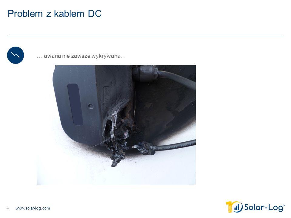 Problem z kablem DC … awaria nie zawsze wykrywana…