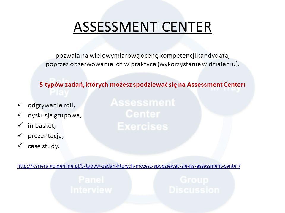 5 typów zadań, których możesz spodziewać się na Assessment Center: