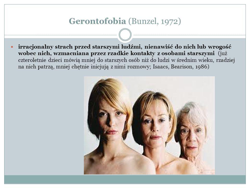 Gerontofobia (Bunzel, 1972)