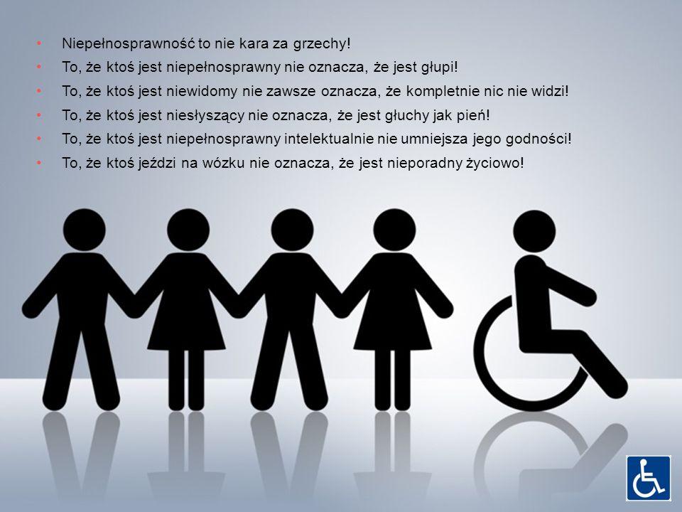 Niepełnosprawność to nie kara za grzechy!