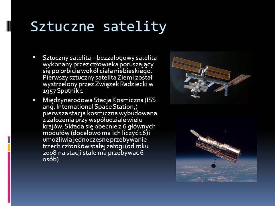 Sztuczne satelity