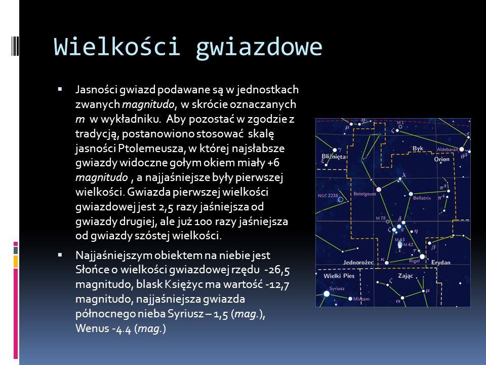 Wielkości gwiazdowe