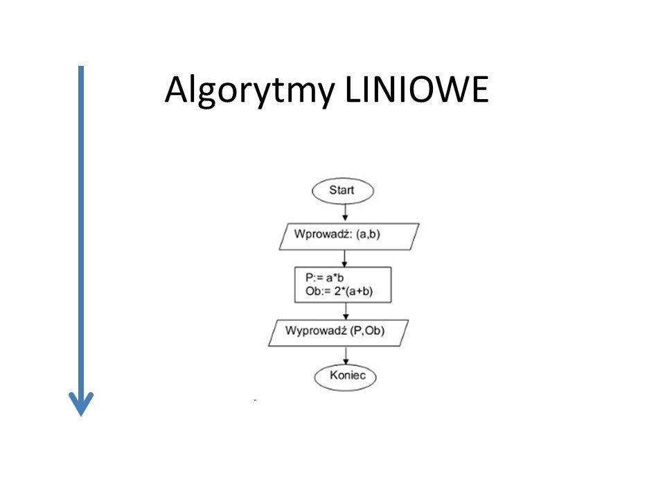 Algorytmy LINIOWE