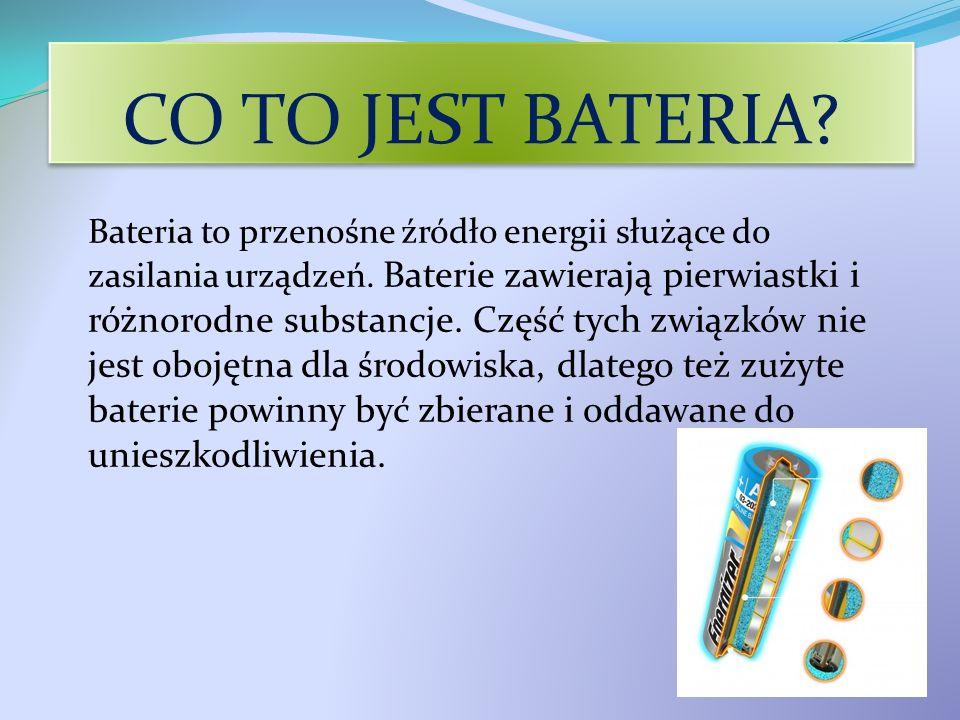 CO TO JEST BATERIA