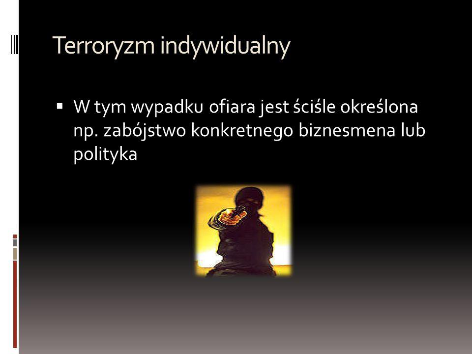 Terroryzm indywidualny