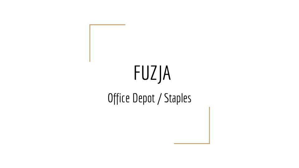FUZJA Office Depot / Staples