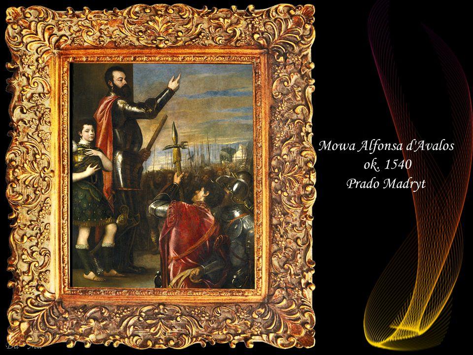 Mowa Alfonsa d Avalos ok. 1540 Prado Madryt