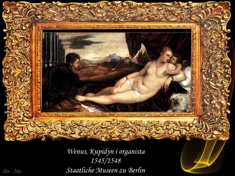 Wenus, Kupidyn i organista 1545/1548 Staatliche Museen zu Berlin
