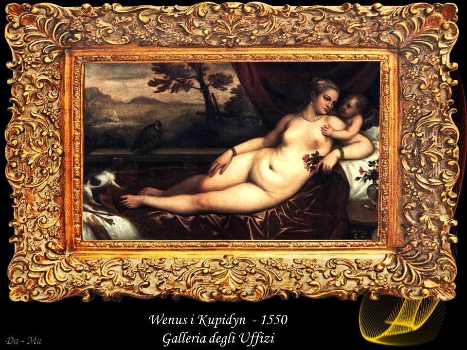 Wenus i Kupidyn - 1550 Galleria degli Uffizi