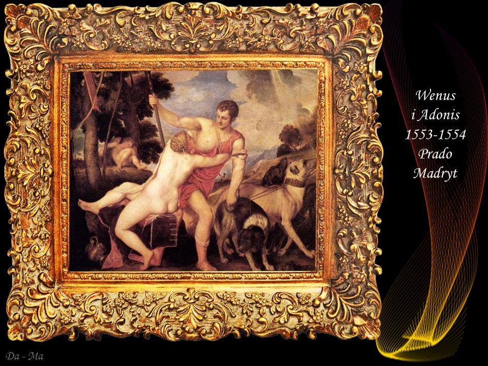 Wenus i Adonis 1553-1554 Prado Madryt