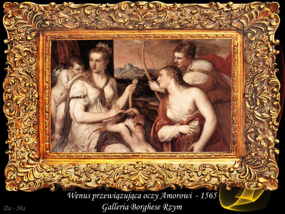 Wenus przewiązująca oczy Amorowi - 1565 Galleria Borghese Rzym