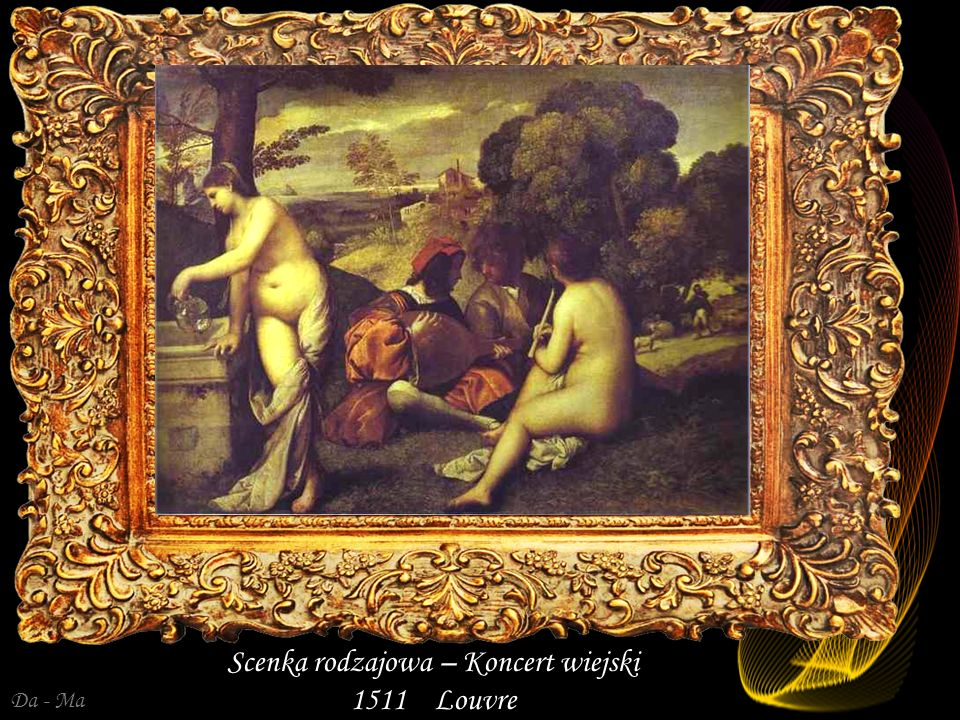 Scenka rodzajowa – Koncert wiejski 1511 Louvre