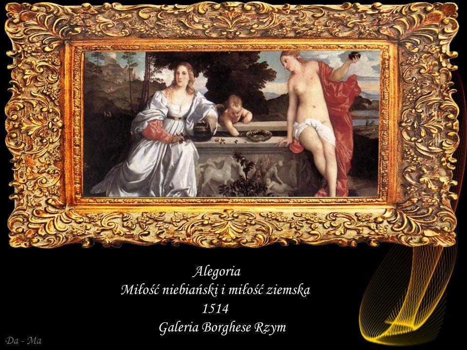 Miłość niebiański i miłość ziemska 1514