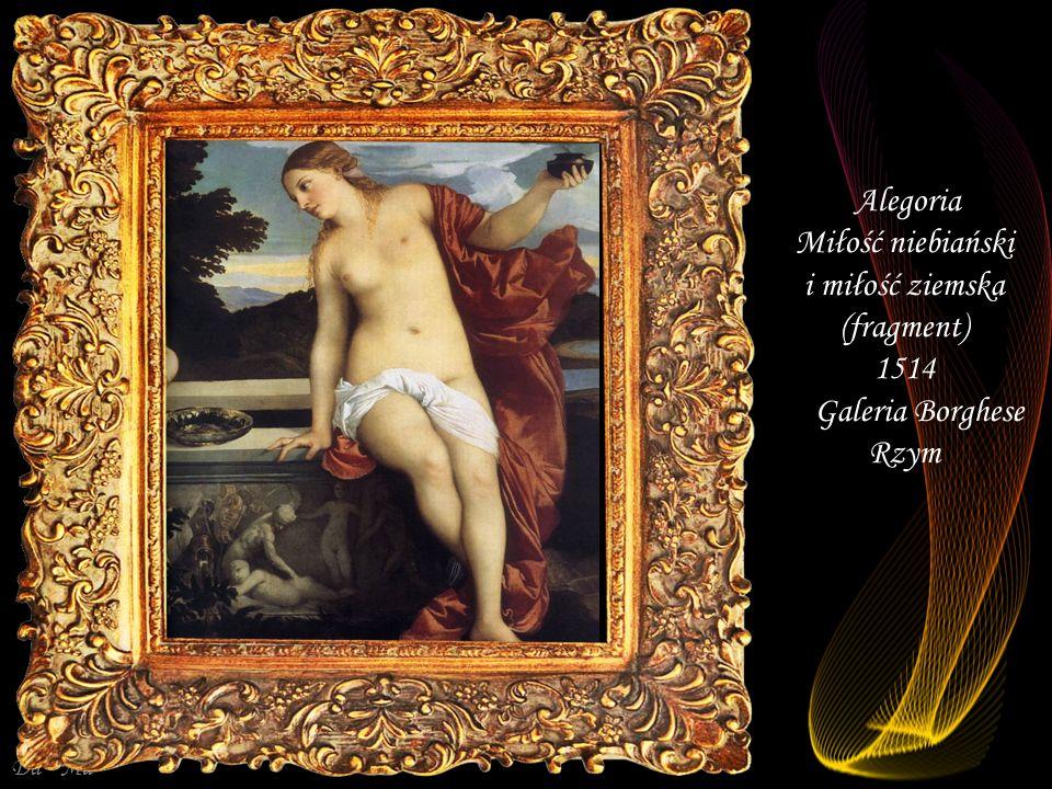 Miłość niebiański i miłość ziemska (fragment) 1514