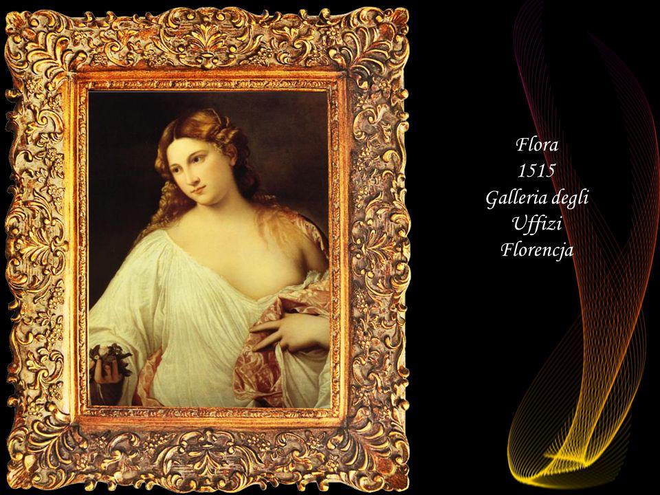 Flora 1515 Galleria degli Uffizi Florencja